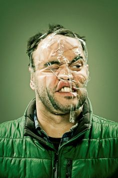tape face funny man world images fun pictures laugh moments people 1 Funny People in Scotch Tape Makeover Photos) Tape Face, Wes Naman, Zine, Selfies, Christmas Ideas For Boyfriend, Sweet Station, Scotch Tape, Photoshop, Model Face