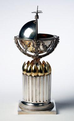 Sugar bowl with 12 teaspoons; parcel-gilt silver  Bendix Gijsen, 1807