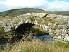 Pont Scethin, on the old drovers' road from Meirioneth in Wales to London. Over the years countless thousands of animals of many sorts will have crossed this now lonely and isolated spot on their way to London.