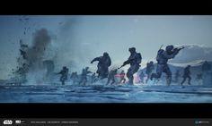 Leonid Kozienko's submission on ILM Art Department Challenge - The Job Frank Herbert, Tableau Star Wars, Starwars, War Novels, Star Wars Concept Art, Star Wars Rpg, Pokemon, Art Station, Star Destroyer