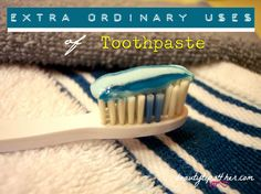 12 Unusual Uses for Toothpaste You Probably Never Thought Of | Beauty and MakeUp Tips