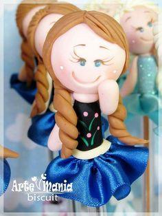 Caneta decorada Anna Frozen
