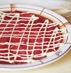 Friday Food Porn: The original carpaccio, from Harry's Bar, Venice