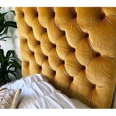 Our Best Bedroom Furniture Deals Gold Headboard, Velvet Headboard, Tufted Headboards, Fabric Headboards, Bedroom Furniture Stores, Space Saving Furniture, Furniture Deals, Online Furniture, Twin Xl Mattress