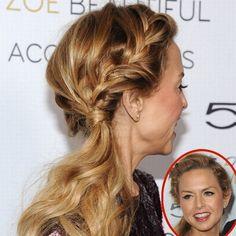 Not Rachel Zoe's best pic, but lovvvvveeee the braid!