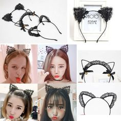 Girl's Accessories 10pcs Black Filigree Net Metal Wire Headbands Hairbands For Diy Women Hair Accessories Wholesales Girls Hair Hoops Girl's Hair Accessories