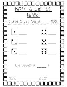 Here's a great post with a couple of activities and reproducibles for the day. Change for probability 100 Days Of School, School Holidays, School Fun, School Stuff, School Ideas, 1st Grade Math, Grade 2, Second Grade, 100s Day