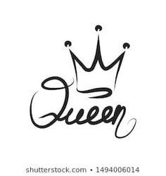 Queen Wallpaper Crown, Queens Wallpaper, Small Crown Tattoo, Crown Tattoo Design, Tattoo Designs, Mehndi Designs, Couple Tattoos, New Tattoos, Queen Tattoo