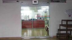 ประตูอัตโนมัติ ชุดรางประตูเลื่อน HPK ประตูกระจกอัตโนมัติ