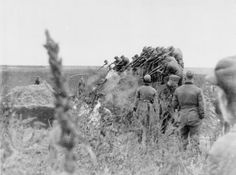 This photograph shows a German Einsatzgruppe firing squad shooting Jews in an open pit near Dubossary (now Moldova) in September 1941. When the Germans invaded the Soviet Union in June 1941, these killing squads rounded up and shot Jewish men, women and children; communist officials; and others considered racially and ideologically dangerous. Surviving Jews were then forced into ghettos.