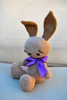 Conejito elegante, Niños y bebé, Juguetes, Crochet, Amigurumis, Crochet, Muñecos, Juguetes, Amigurumis