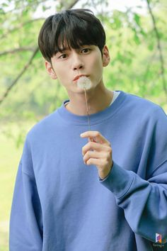 Ong Seongwu 'Moment at Eighteen' Drama Poster Filming Behind by Fantagio