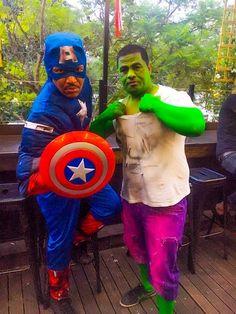 Captain America & The Incredible Hulk #BirthdayTheme
