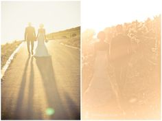 These photos were taken directly into the sun.  This allows light to rush into the lens and create a soft edge, warm sunset picture.  Lovely alternative for some of your #wedding #couple #photos.  See more of this wedding here: http://www.zara-zoo.com/blog/cape-town-destination-wedding/