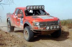 Ford F-150 truck Ford F-150 truck Ford F-150 truck SVT Red Raptor off-roading