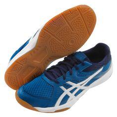 ASICS UPCOURT 3 Men s Badminton Shoes Sports Indoor Blue Racquet  1071A019-400  ASICS Tollaslabda 064dbab864