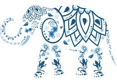 Słoń, Zdobione, Zwierząt, Indie, Ssak, Dekoracja