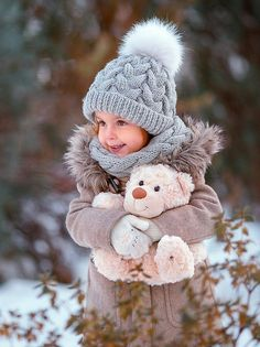 Ideas For Photography Winter Portrait Children - Photography, Landscape photography, Photography tips Baby Kind, Cute Baby Girl, Cute Babies, Baby Pictures, Baby Photos, Cute Pictures, Cute Kids Photography, Winter Photography, Children Photography Poses