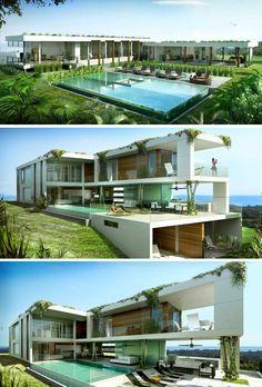 ღღ 12 Luxury Residences that Offer You the Opportunity to Live an Extraordinary Eco-lifestyle in Costa Rican