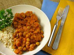 Easy Vegan Chickpea Coconut Curry