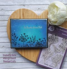 Hello Everyone, Today I am sharing a card I made using two Downland Crafts stamp sets. The first set is Country Lane. This is the flower set. The second set is As Gaeilge and this is an Irish Sentiment set. Firstly I got a piece of Strathmore Bristol Smooth cardstock and cut it to size. […] The post Country Lane appeared first on Downland Crafts. Silver Paper, Distress Oxides, Flower Images, My Stamp, Hello Everyone, Card Stock, Projects To Try, Posts, Stamp Sets