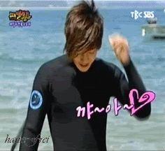 Kim Hyun Joong 김현중 ♡ hair flip gif ♡ Kpop ♡ Kdrama ♡ Un montón de Kpop Gifs! - Hyun Joong (SS501) Gif Caza