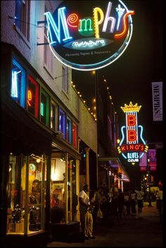 memphis. practically lived there!