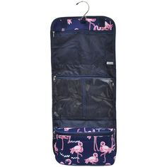 34db0d0aa6 NGIL Flamingo Traveling Toiletry Bag-Nav