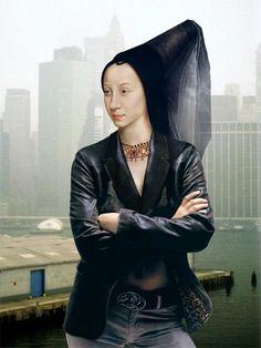 "Dorothee Golz, ""Turmhutfrau"", Diasec, 60 x 45 cm, 2005 © Dorothee Golz"