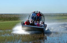 Boggy Creek Airboat Rides in Kissimmee