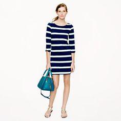 J.Crew Stripe shirttail dress Want this dress:)