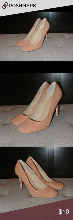 Blush Heels - 4 in. Blush Heels | 4 inches | Blemishes shown in pictures | True to size ASOS Shoes Heels