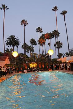 The scene at the Beverly Hills Hotel for Cointreau Summer Soiree