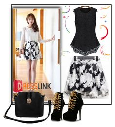 """DRESSLINK-4"" by dzemila-c ❤ liked on Polyvore"