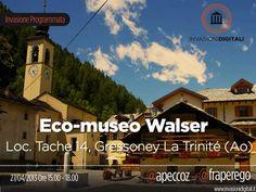 Gressoney-La-Trinité  (Valle d'Aosta) - Eco-museo Walser - Il Museo è costituito da tre strutture che offrono l'opportunità di un viaggio alla scoperta della cultura dei Walser, un popolo di origini germaniche che in epoca medioevale si stanziò nell'Alta Valle del Lys alla ricerca di nuovi insediamenti abitativi.