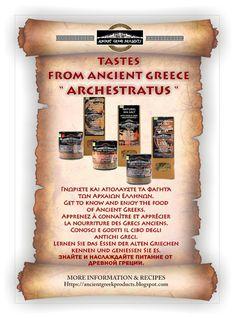 ANCIENT GREEK PRODUCTS : ΑΡΧΑΙΑ ΕΛΛΗΝΙΚΗ ΚΟΥΖΙΝΑΠροβάλετε στο κατάστημά σα... Ancient Greece, Getting To Know, Greek, Blog, Food, Blogging