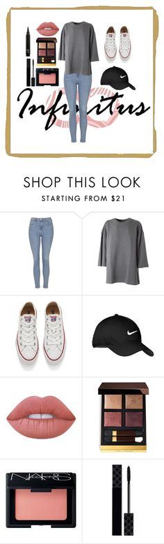 """Chill Day"" by zaylee871 ❤ liked on Polyvore featuring Topshop, adidas Originals, Converse, Nike Golf, Lime Crime, Tom Ford, NARS Cosmetics and Gucci"