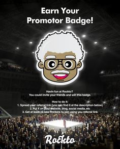 Earn Your Promotor Badge on Rockto.com!