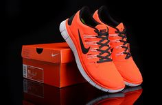 best website be3bc 2af4d Herren Nike Free Run 5.0 Schuhe Orange Schwarz Nike Shoes Cheap, Nike Shoes  Outlet,