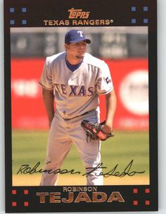 2007 Topps 221 Robinson Tejeda - Texas Rangers (Baseball Cards) >>> Details can be found by clicking on the image.