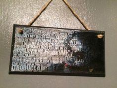 The Joker Batman wall plaque by LightspeedCrafts on Etsy