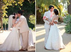 Fiesta Chic Santa Barbara Wedding: Albee + Nick