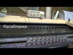 Переход с глади на резинку 2:2 . | Машинное вязание | Постила