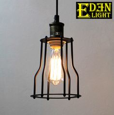 Eden Light is a progressive lighting company committed to bringing the best quality, most stylish and affordable light fittings to NZ. Industrial Pendant Lights, Pendant Lighting, Light Fittings, Light Bulb, Iron, Frame, Home Decor, Products, Picture Frame
