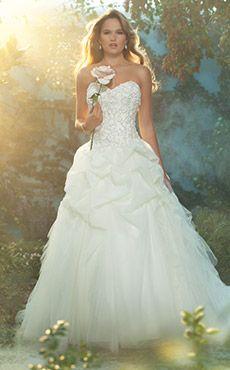 Inspiration Gallery - Bride and Bridesmaid Dresses   Disney's Fairy Tale Weddings & Honeymoons