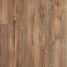 Alder Pecan Tan Water-Resistant Laminate - 12mm - 100578962 | Floor and Decor