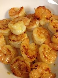 honey lime shrimp - serve over brown rice with veggies or add to a salad.