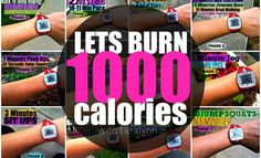 The 1000 Calorie Workout (takes 2 hours)
