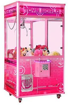Toy World Jumbo Prize Commercial Grade Prime Arcades Crane Claw Machine My New Room, My Room, Girl Room, Girls Bedroom, Bedroom Decor, Little Girl Toys, Toys For Girls, Kids Toys, Barbie Toys