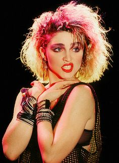 See Madonna pictures, photo shoots, and listen online to the latest music. Madonna Costume, 80s Costume, Madonna 80s Makeup, Madonna 80s Fashion, 1980s Madonna, Dance Costume, Costume Ideas, Madonna Young, Madonna Pics